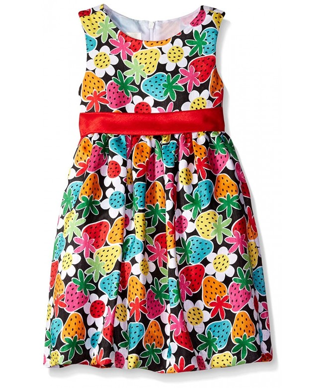 American Princess Girls Strawberry Shantung