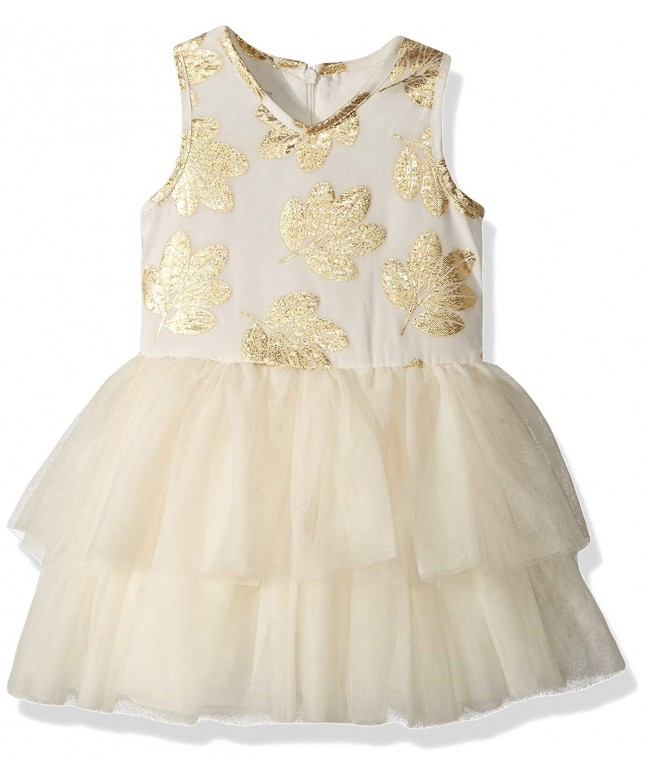 PIPPA JULIE Girls Sleeveless Tiered