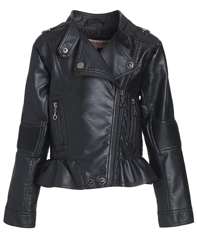 Urban Republic Toddler Leather Motorcycle