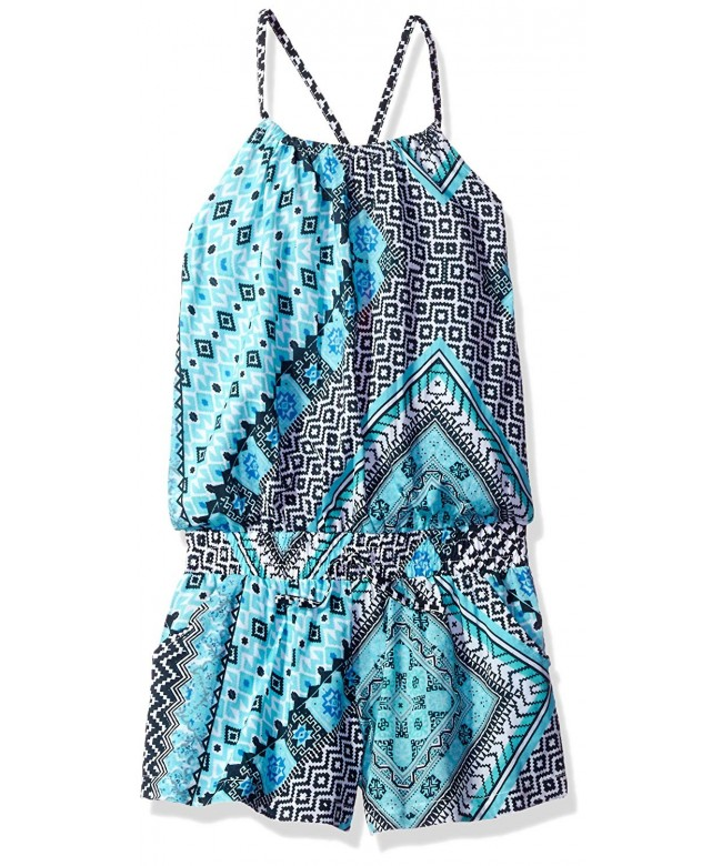 Seafolly Girls Aztec Tapestry Jumpsuit