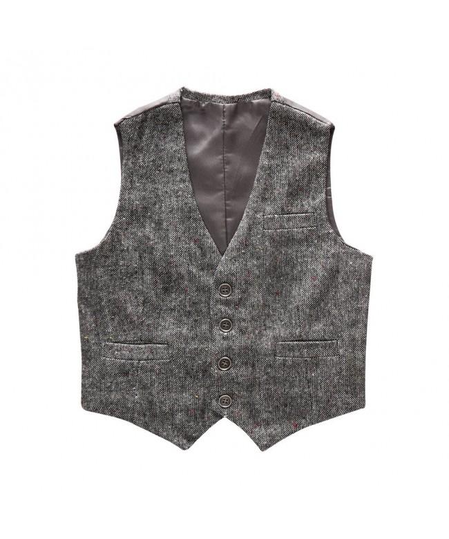 Coodebear Design Waistcoat Pockets Buttons