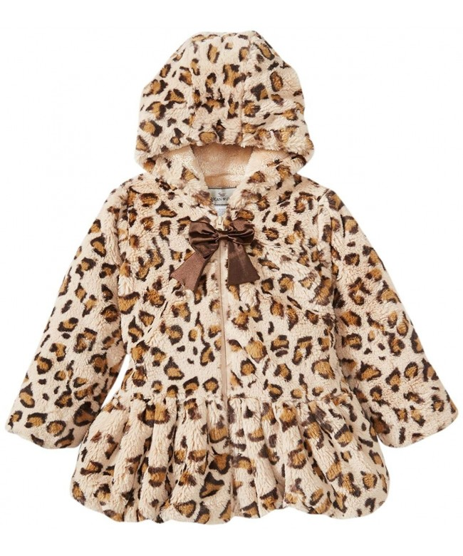 Widgeon Little Girls Hooded Toddler