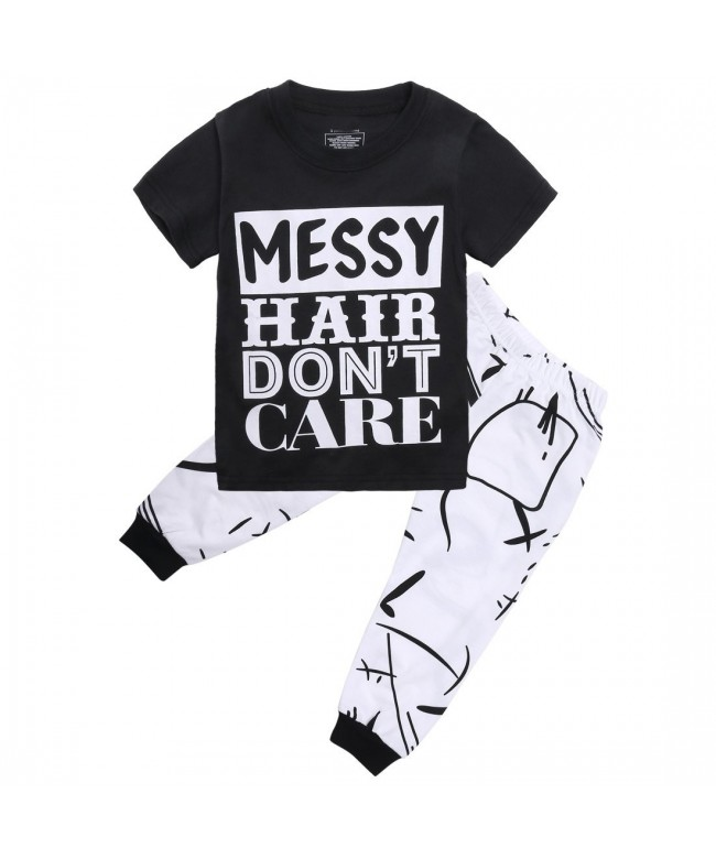 Little Sleeve Letters T Shirt Outfit