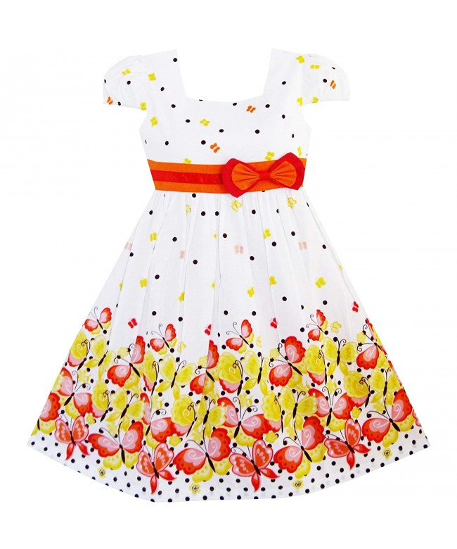 Sunny Fashion Sleeve Butterfly School