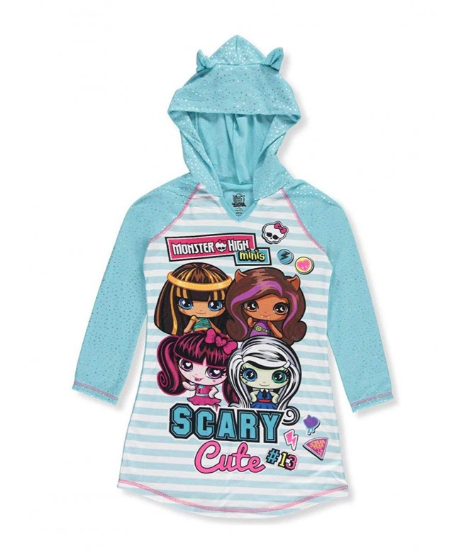 Monster Hooded Nightgown Pajamas Little
