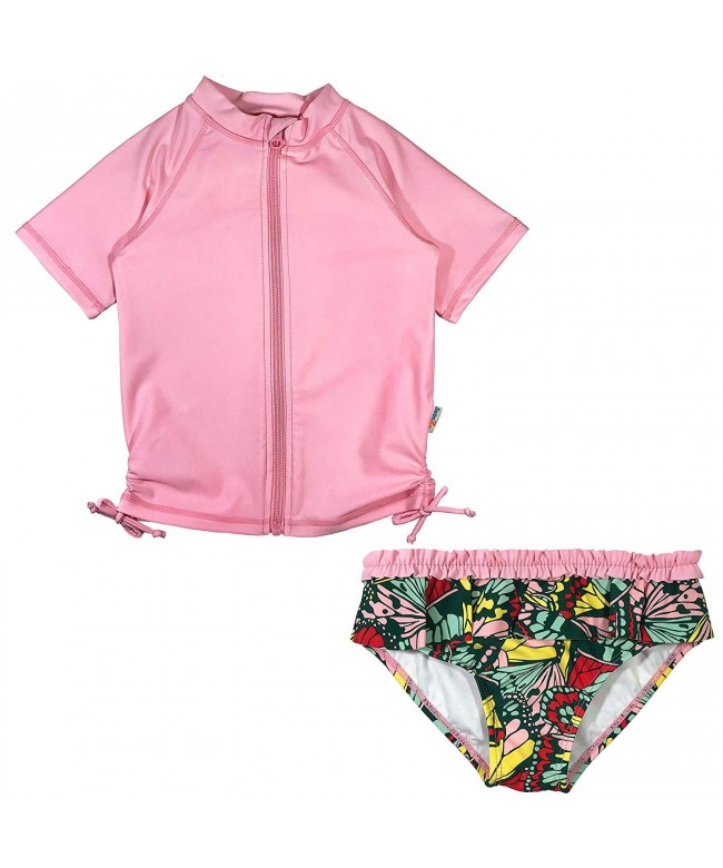 SwimZip Short Sleeve Guard Swimsuit