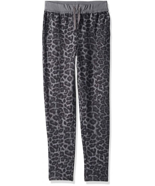Splendid Girls Leopard Print Jogger