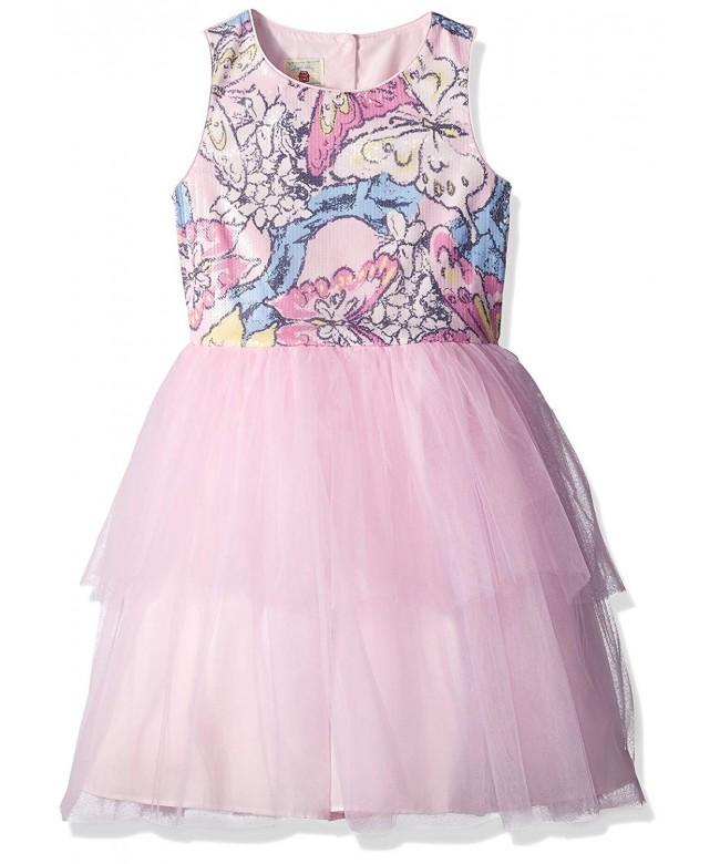 Marmellata Girls Sequin Bodice Dress