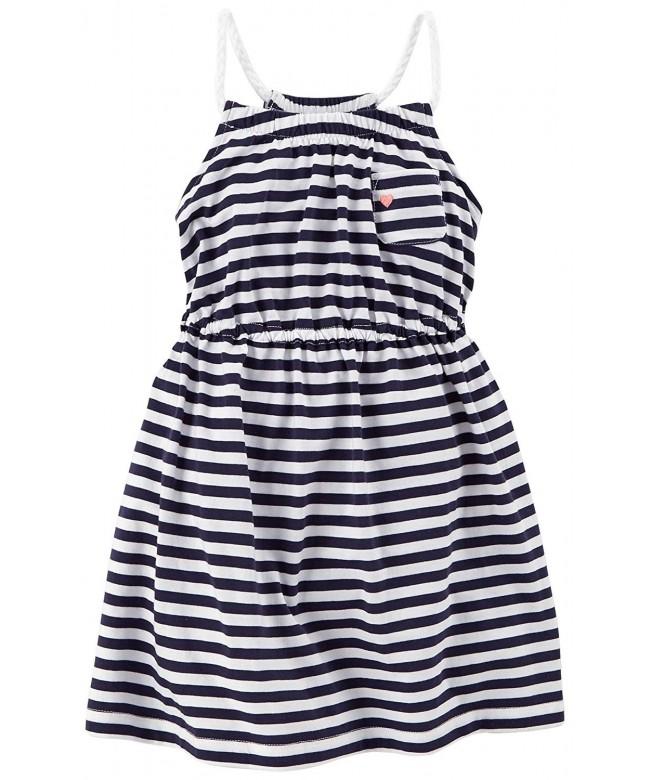Carters Little Girls Jersey Stripe
