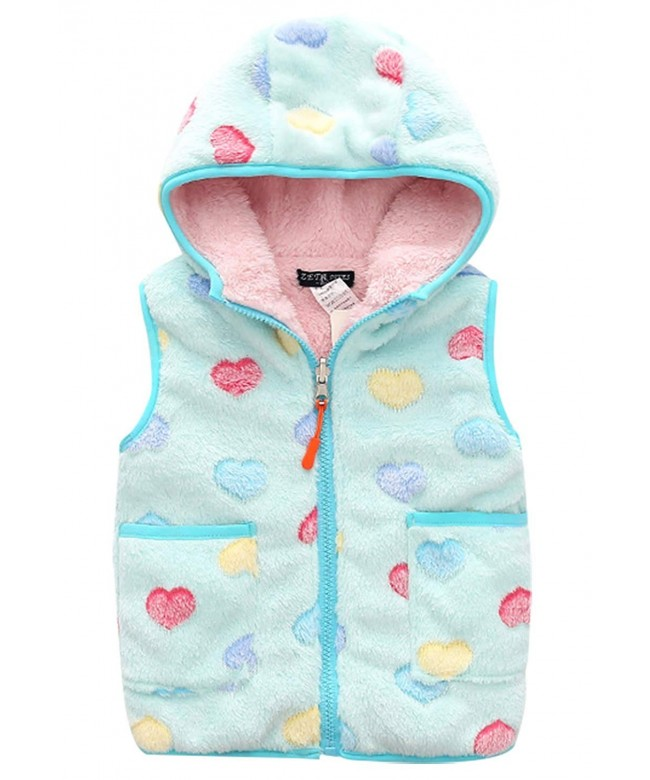 Happy Cherry Reversible Cartoon Waistcoat