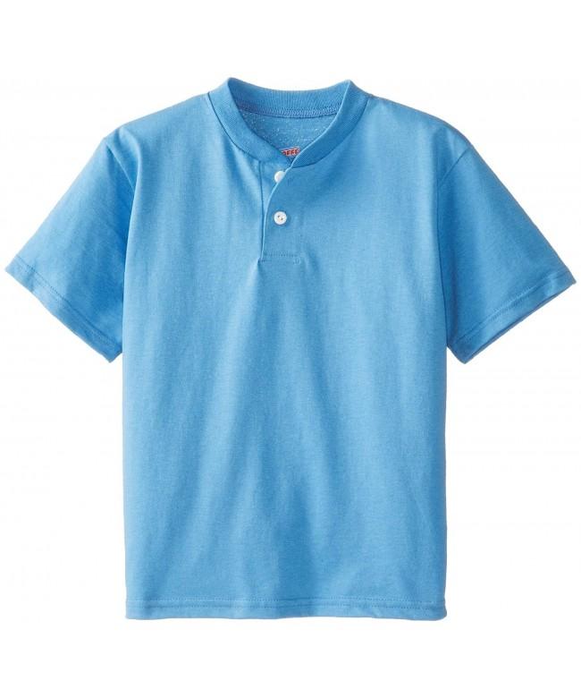Soffe Boys Midweight Henley Shirt