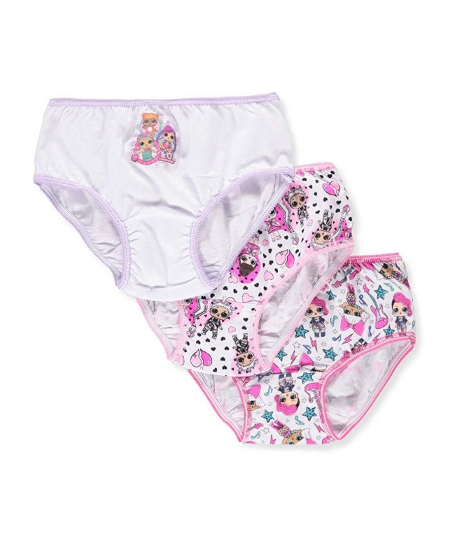 Justice Panty Bundle of 3-Count Size 16//18