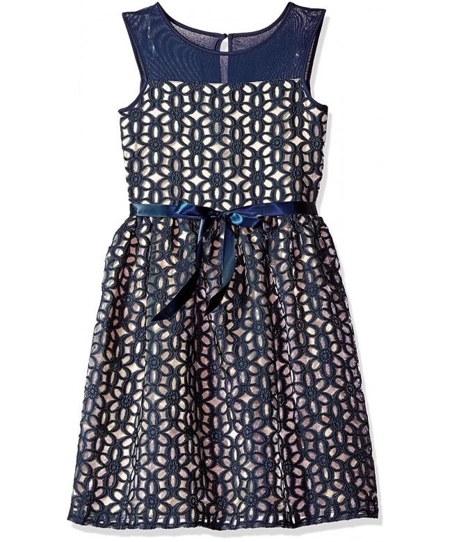 Speechless Girls Embroidered Organza Dress