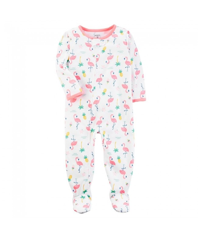 Carters Little Girls Cotton Pajamas
