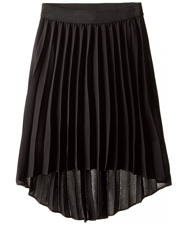Amy Byer Pleated Chiffon Skirt