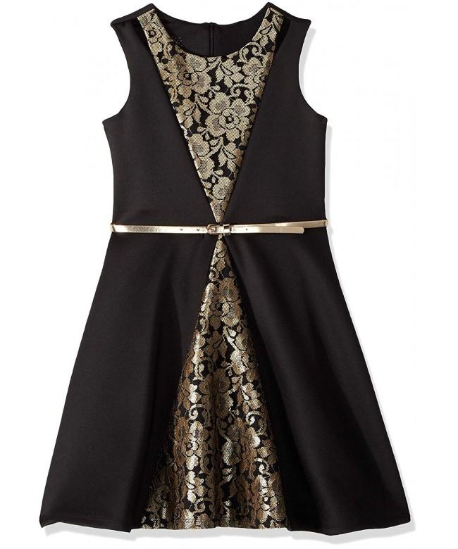 Marmellata Girls Color Block Dress