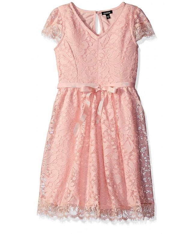Zunie Girls Capsleeve Vintage Dress