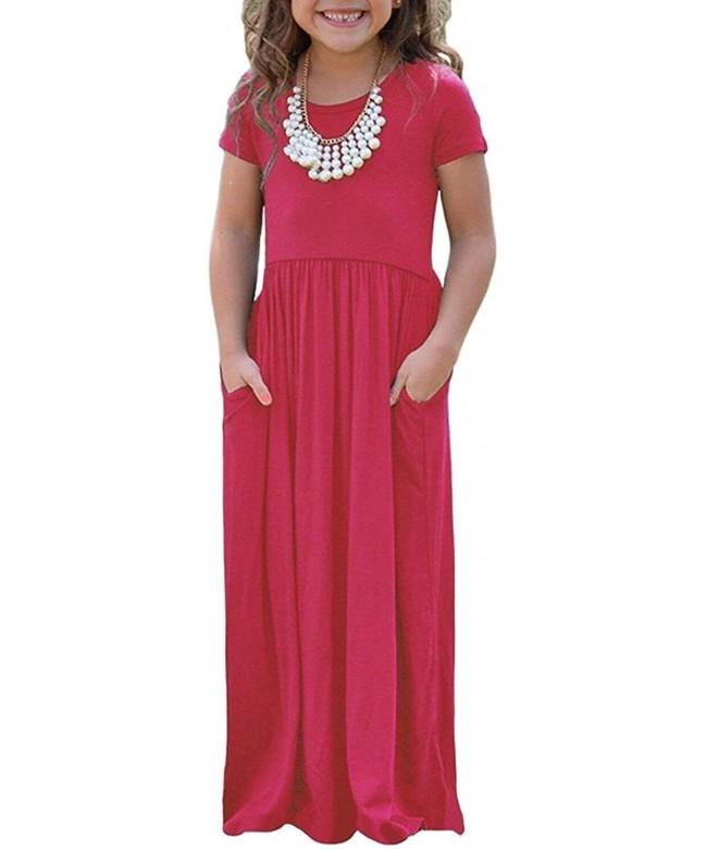Vansha Little Summer Sleeve Pockets