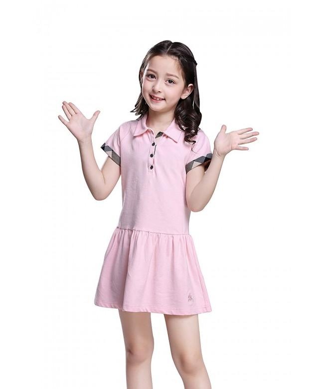 MiXiaoJie Girls Dress Cotton Casual