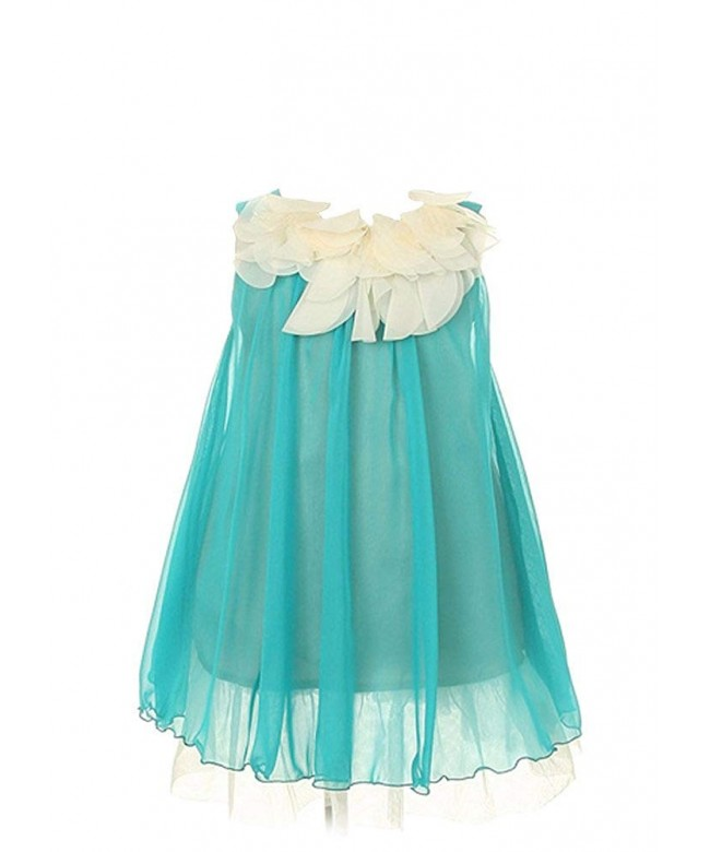 Kids Dream Turquoise Floral Bodice