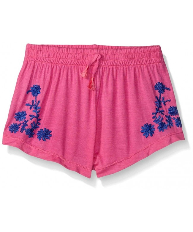 Flowers Zoe Shorts Floral Embroidery