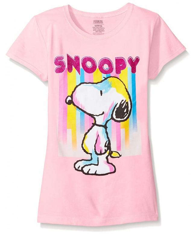Peanuts Girls Short Sleeve T Shirt