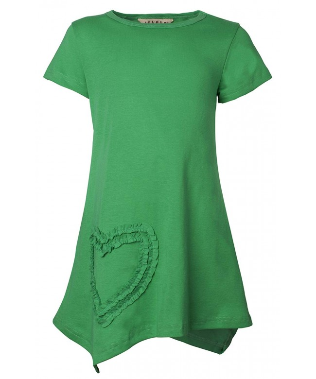 Ipuang Girls Shaped Casual Cotton