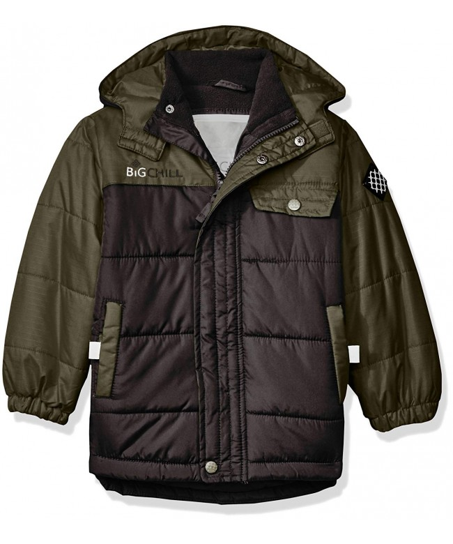 Big Chill Colorblock Bubble Jacket