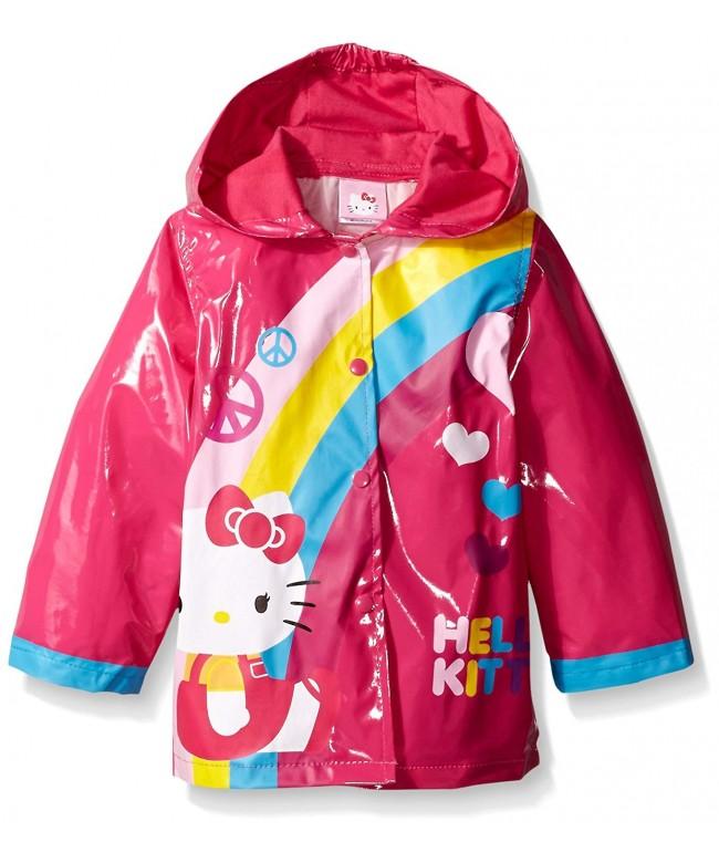 Sanrio Toddler Rainbow Hooded slicker