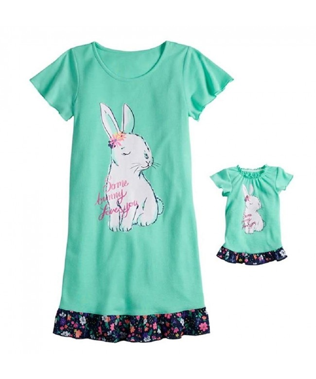 Short Sleeve Dorm Nightgown Doll