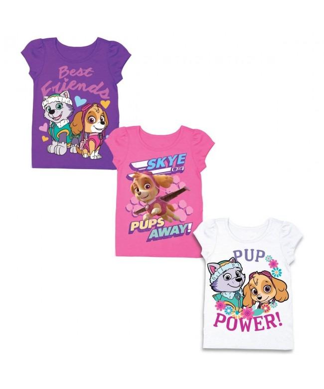 Nickelodeon Toddler Patrol T Shirt Bundle