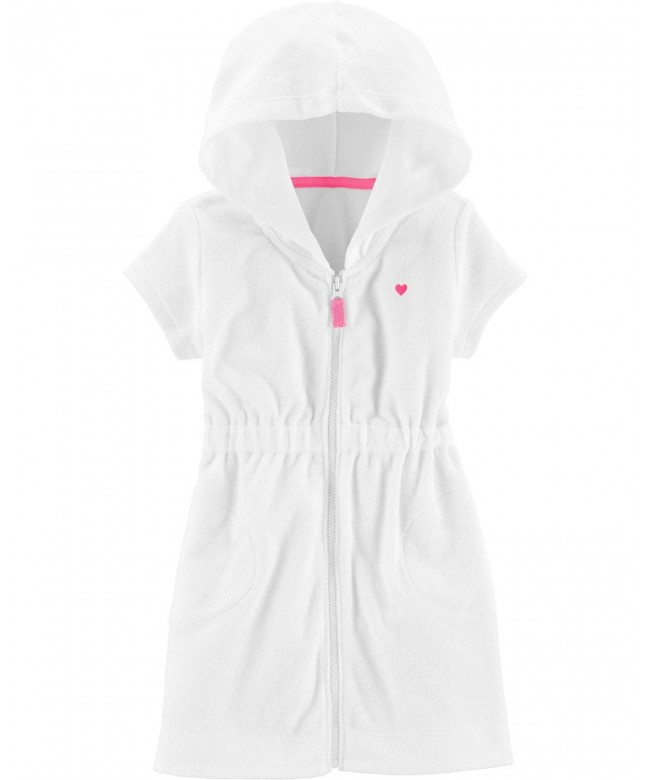 Carters Girls Terry Swim Cover