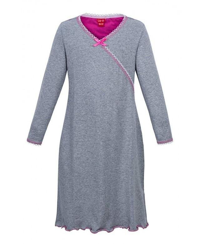 Girls Nightgown Grey Size 140 146