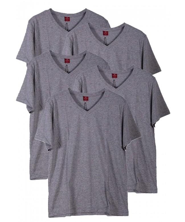 Godsen Cotton T Shirt V Neck Undershirts