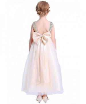 Bow Dream Lovely Sequins Flower
