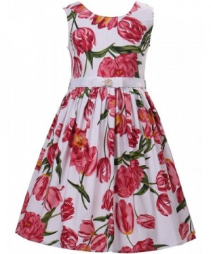 PrinceSasa Girls Sleeveless Vintage Dresses