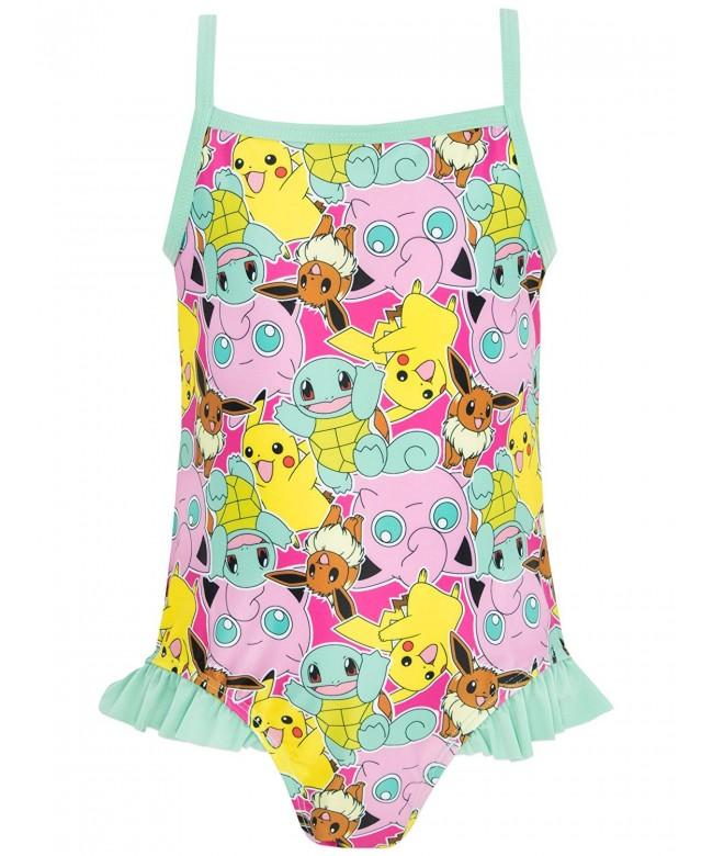 Pokemon Girls Swimsuit