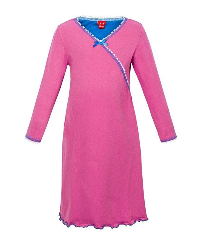 Girls Nightgown Pink Size 128 134