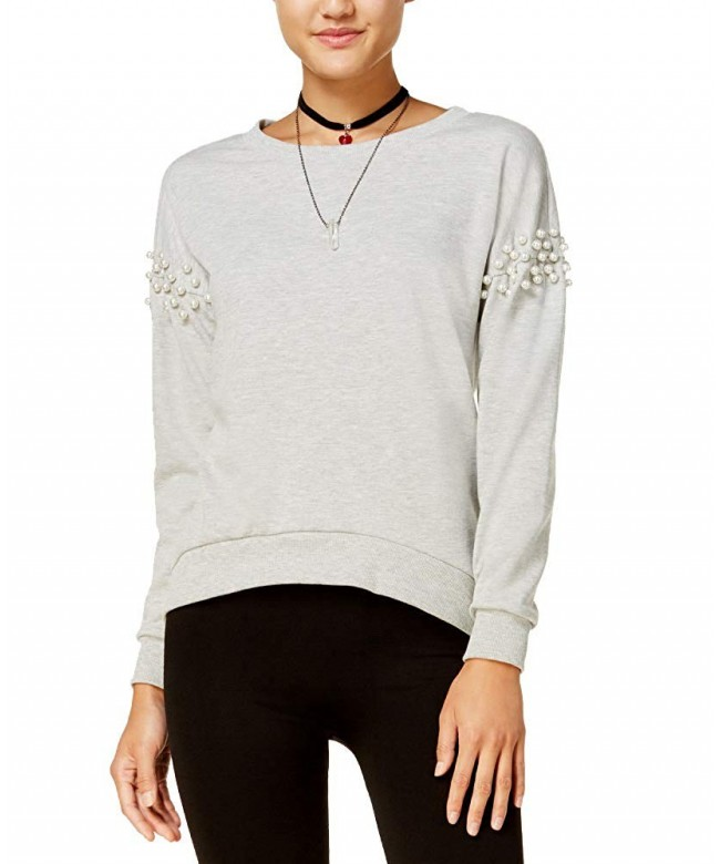 Ultra Flirt Juniors Embellished Sweatshirt