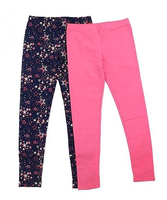VIGOSS Girls Cotton Leggings Stars