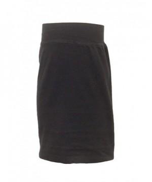 Hard Tail Cotton Pencil Skirt