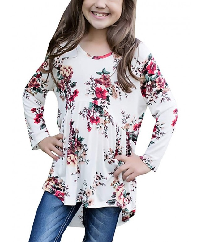 Shirts Casual Floral Blouses Clothes