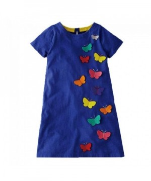 VIKITA Toddler Summer Dresses Sleeve
