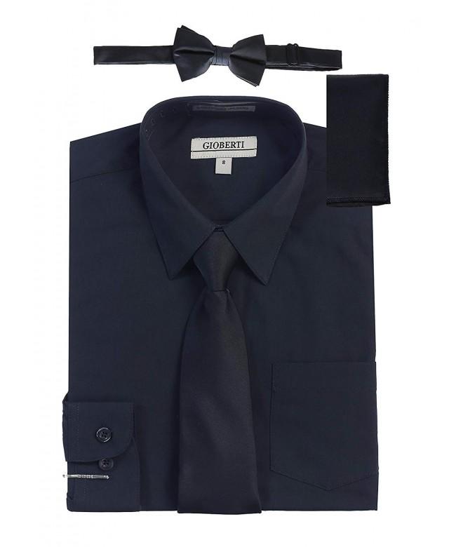 Gioberti Sleeve Dress Shirt Solid