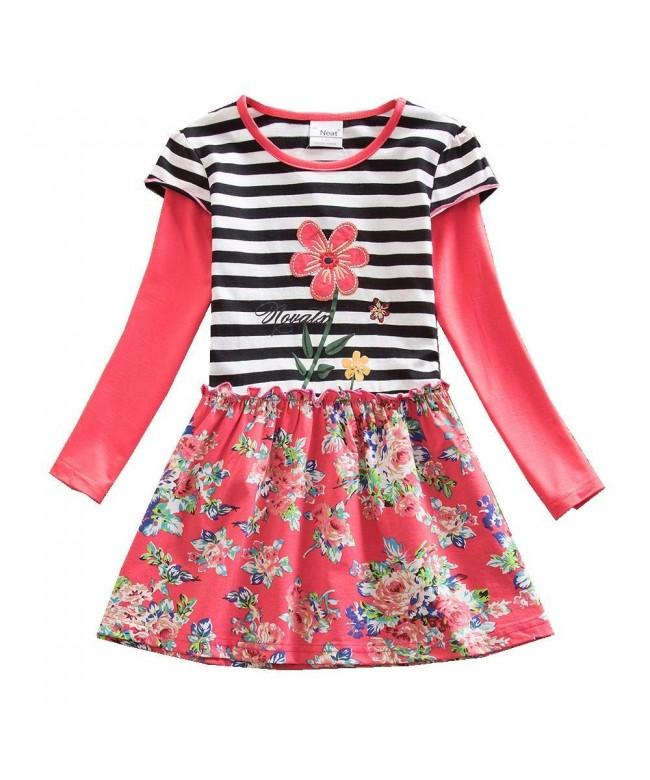 JUXINSU Toddler Cotton Dresses Clothes