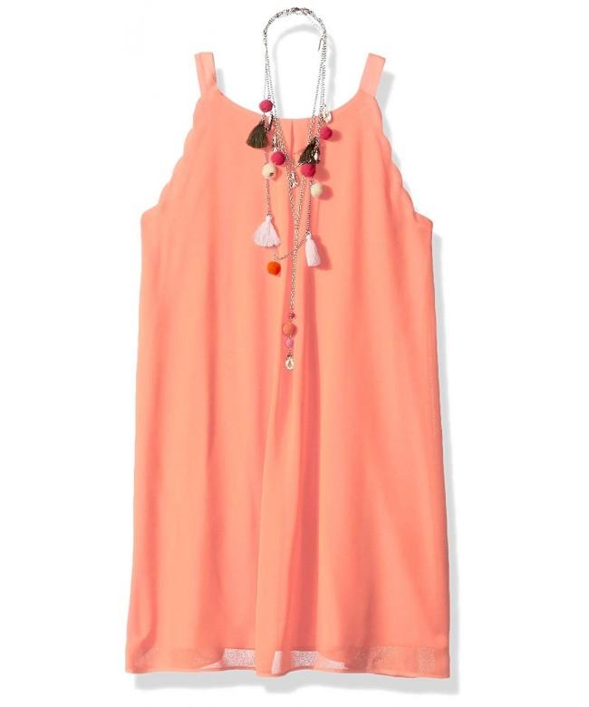 Amy Byer Girls Sleeveless Necklace