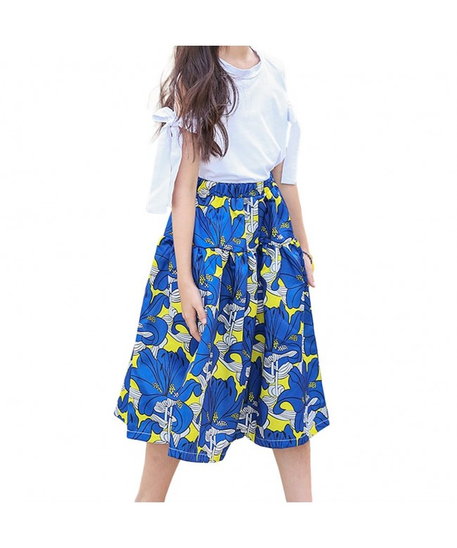 Multifit Vintage Pleated Floral Printed