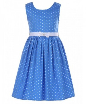 PrinceSasa Girls Sleeveless Vintage Dresses