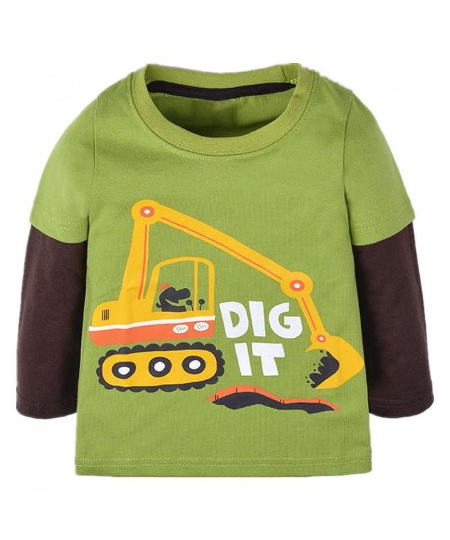 Qtake Fashion Crewneck Childrens Sweatshirt