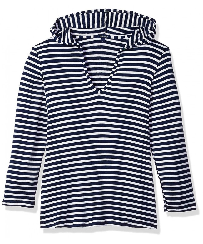 Splendid Girls Stripe Hoodie Tunic